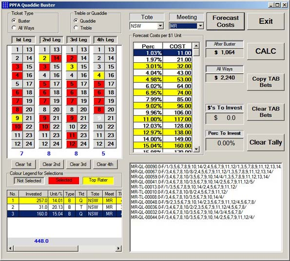 Quaddie Buster Screenshot